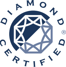 Diamond Certified Logo Large