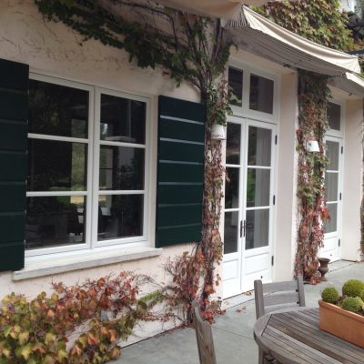 Dark Green St Helena Residence