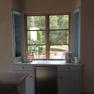 Glass Window St Helena Residence