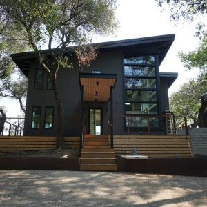Lake Berryessa House Project After