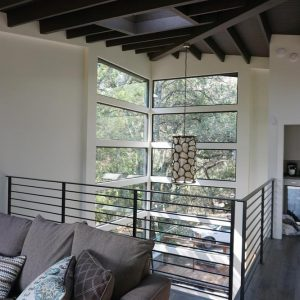 Lake Berryessa Residence Glass Window Project After