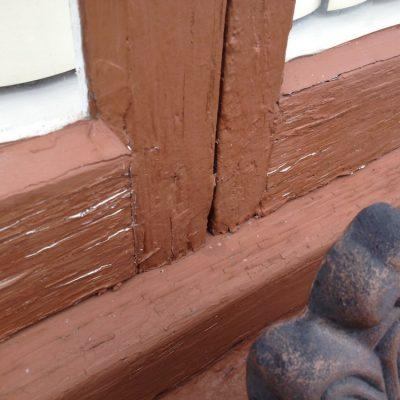 Yountville Town Hall Wooden Door Large